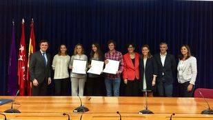 Tres alumnos de Pozuelo reciben una beca para estudiar un grado universitario