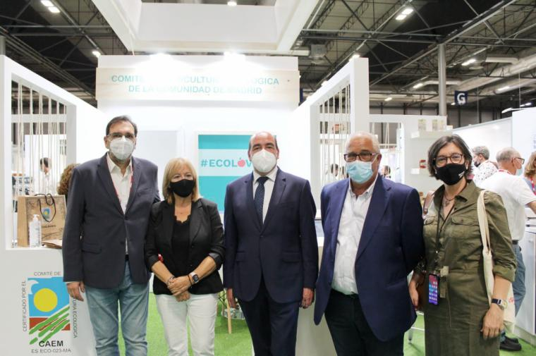 La Comunidad de Madrid participa en el Organic Food Iberia 2021 para exponer sus alimentos ecológicos de calidad
