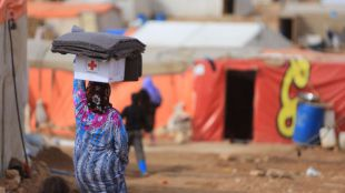 Más de 18.000 refugiados bajo el amparo de Cruz Roja