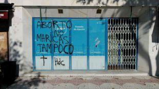 Nuevo ataque a la sede del PP en Pozuelo