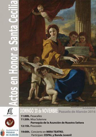 La Lira de Pozuelo celebra Santa Cecilia por todo lo alto