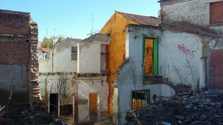 El PSOE denuncia la alarmante situación del barrio de La Poza