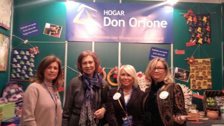 La Reina Doña Sofía acude al Mercadillo Solidario Hogar Don Orione que este sábado llega a Pozuelo
