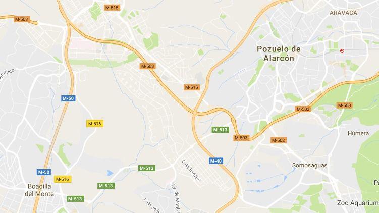 La Comunidad realizará mejoras en una de las carreteras que pasan por Pozuelo