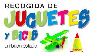 Recogida de juguetes y bicis en Pozuelo de Alarcón
