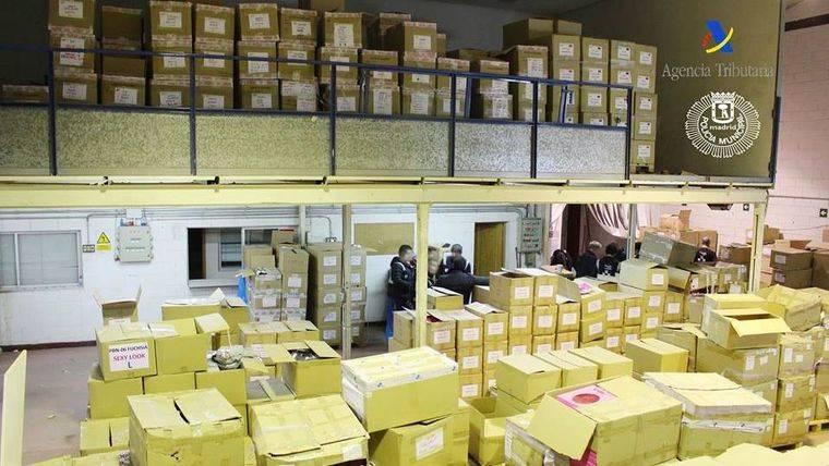 Detectadas 85.000 prendas falsificadas en comercios de la región