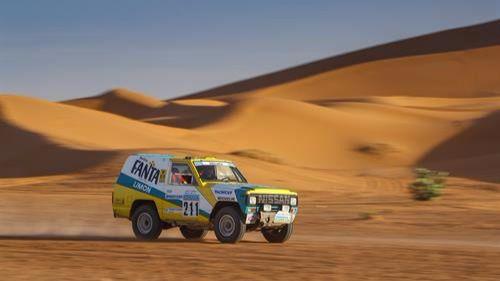 El emblemático Nissan Patrol del París Dakar 1987 vuelve a las dunas del Sáhara