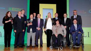 La ONCE premia a la Comunidad por facilitar la accesibilidad en la red de Metro