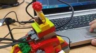 Talleres de Robótica con Lego WeDo y Scratch en Pozuelo