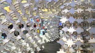 Laboratorio de diseño con estructuras de cartón en Pozuelo