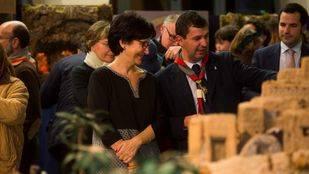 Un Belén con más de 500 figuras llena el Patio Segovia del Ayuntamiento de Pozuelo