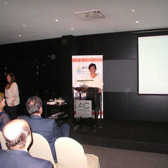 Susana Perez Quislant, Socia de Honor de la Asociación de Mujeres Empresarias de Pozuelo