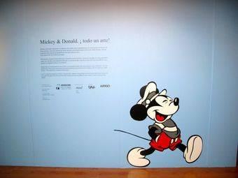 Inauguración de la Exposición 'Mickey y Donald. Todo un arte'