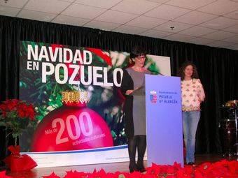 Susana Pérez Quislant da el pistoletazo de salida a la programación navideña de Pozuelo de Alarcón