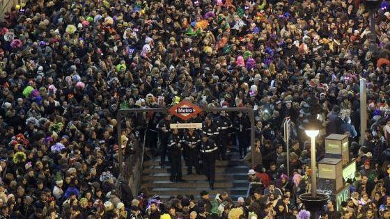 Dispositivo especial de refuerzo en Metro de Madrid hasta la Cabalgata de Reyes
