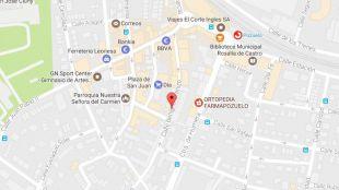 Cortes de tráfico en la calle Benigno Granizo de Pozuelo durante un mes