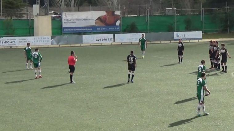 El C.F. Pozuelo empata a cero con el Inter Madrid-Boadilla