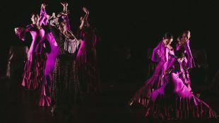 Actuación de danza de la Escuela de Trinidad Artíguez a favor de Cruz Roja Pozuelo