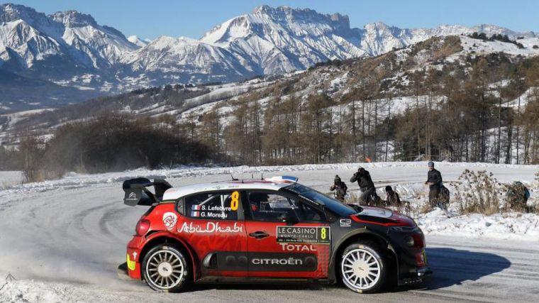 Un rally de Montecarlo rocambolesco