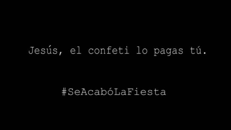 Mensaje de Somos Pozuelo a Sepúlveda: #SeAcabóLaFiesta