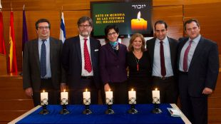 Pozuelo recuerda a las víctimas del Holocausto