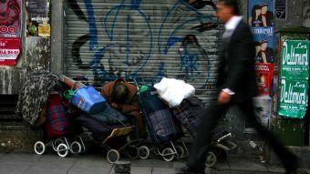 2.576 personas sin hogar en la Comunidad de Madrid