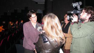 Reportaje de Telemadrid con motivo de la videoconferencia con la base Gabriel de Castilla