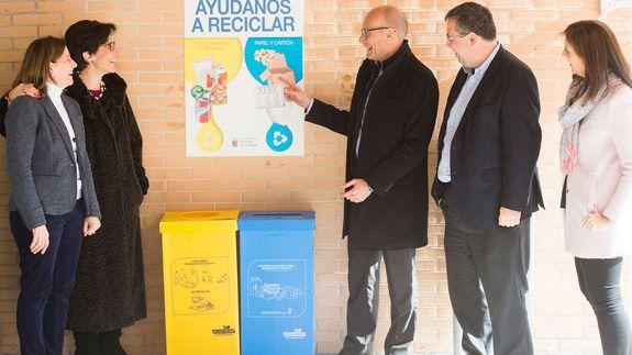 Campaña en los colegios de Pozuelo para facilitar y fomentar el reciclaje