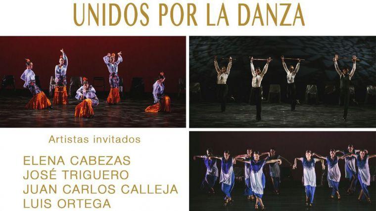 Todo preparado para la actuación de la Escuela de Danza Trinidad Artíguez a favor de Cruz Roja Pozuelo