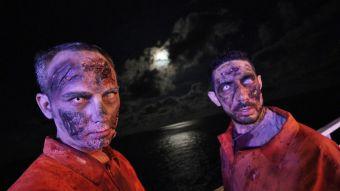 Crucero Zombie 3, un viaje terrorífico desde Valencia a Ibiza en un barco de Baleària