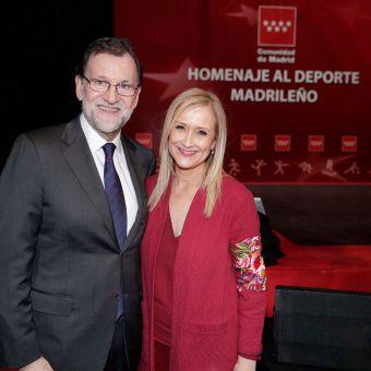 Homenaje a los deportistas madrileños
