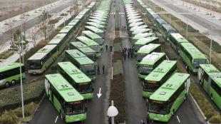Nuevos paneles de información para los pasajeros de autobuses interurbanos