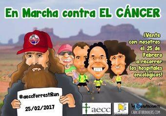 Los Drinking Runners vuelven a recorrer los hospitales de Madrid