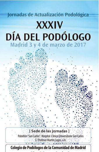 XXXIV Jornadas del Día del Podólogo de la Comunidad de Madrid