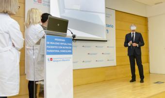 La sanidad pública madrileña diseña la primera herramienta de realidad virtual para pacientes con nutrición mediante catéter