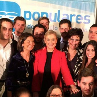 Pérez Quislant felicita a Cifuentes tras ganar las elecciones del PP de Madrid