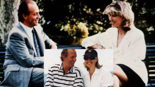 El CNI también grabó en el chalé de Aravaca una cita íntima del rey Juan Carlos
