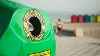 Cada madrileño recicló 12,6 kilogramos de residuos de envases de vidrio, un 4% más que en 2015