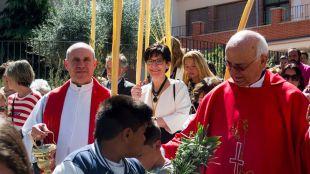 Los actos religiosos del Domingo de Ramos dan comienzo a la Semana Santa de Pozuelo