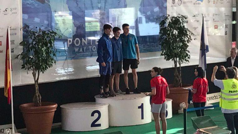 Fernando Pérez Campeón de España Absoluto Joven y Menores en 50m libres