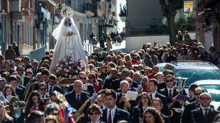 La tradicional Procesión del Encuentro este domingo en Pozuelo