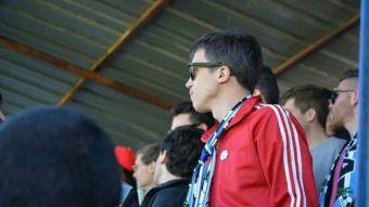 Iñigo Errejón anima al club de fútbol de Aravaca