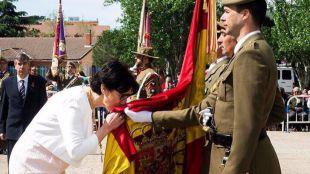 Cerca de 400 personas juran la Bandera de España en Pozuelo de Alarcón