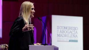 Cristina Cifuentes expresa su total confianza en la Justicia y el Estado de Derecho