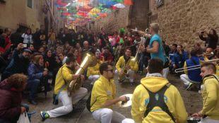 Éxito del V Festival Nacional de Charangas de Poza de la Sal