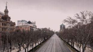 Ignacio Pereira vacía las calles de Madrid en Pozuelo