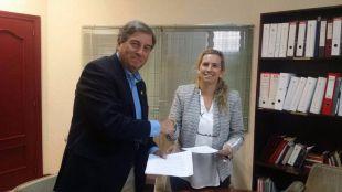 La Hermandad del Rocío de Pozuelo firma un Convenio de Colaboración con RedMadre