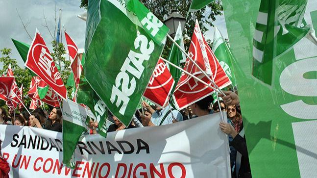 Los profesionales de la Sanidad Privada reclaman poder negociar un convenio justo