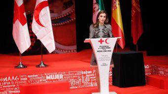 S.M. la Reina ha entregado las medallas de oro de Cruz Roja Española