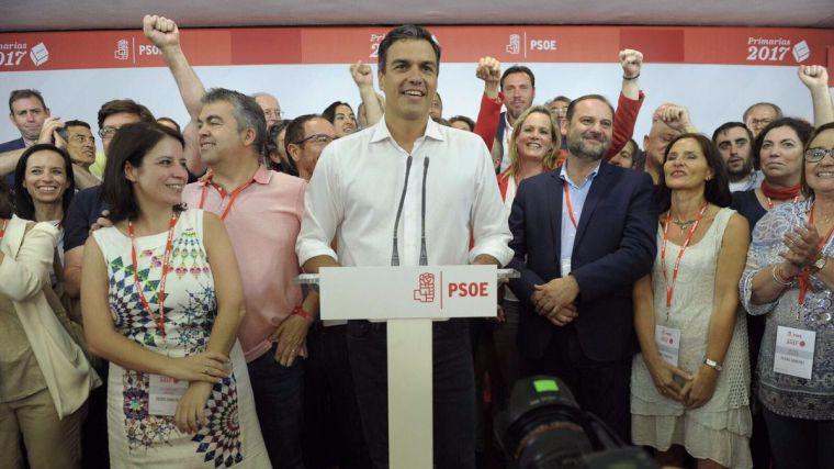 Primarias PSOE: Pedro Sánchez también arrasa en Pozuelo